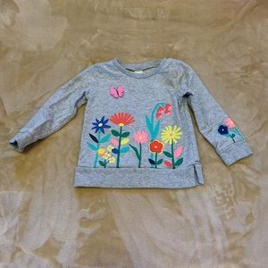 Carters Floral Toddler Top